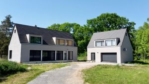 Ansicht Wohnhaus und Ferienhaus